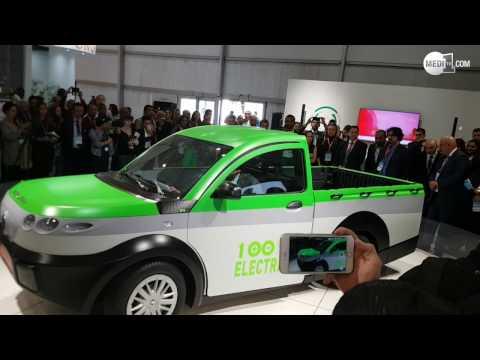 """تقديم سيارة الشحن """"ASLAN"""" بـ """"كوب22 """" .. ابتكار وتصميم وإنجاز مغربي 100 %"""
