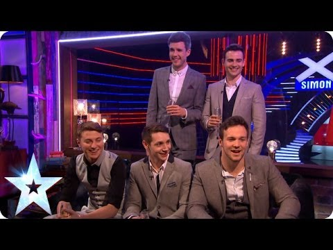 Collabro give their first interview as BGT winners| Britain's Got More Talent 2014