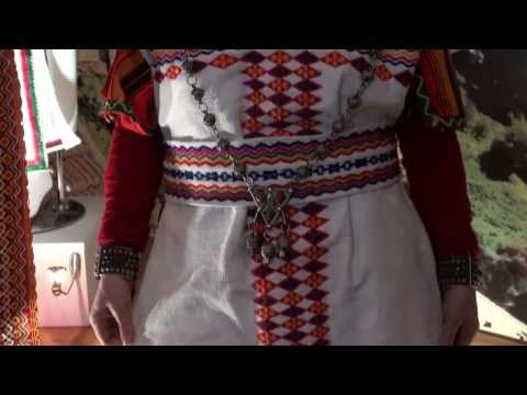 Festival National de l'Habit Traditionnel Algérien- la Robe kabyle