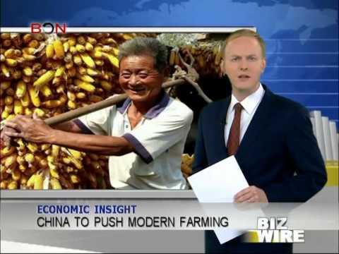 China to push modern farming - Biz Wire - December 25,2013 - BONTV China