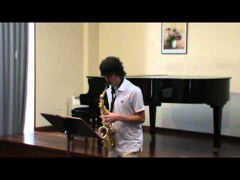Aula Galega de Saxofón – Estudio Nº 2 de W. Ferling