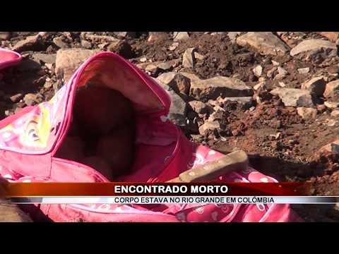 26/06/2020 - Corpo de homem é encontrado boiando nas águas do Rio Grande em Colômbia