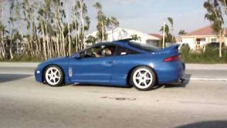 MITSUBISHI ECLIPSE TURBO WITH GT35-R