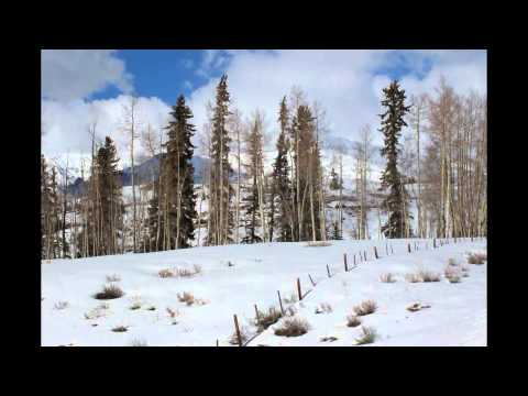 Telluride Winter mountain tour.  Music-  Beethoven Pastoral 2nd movement