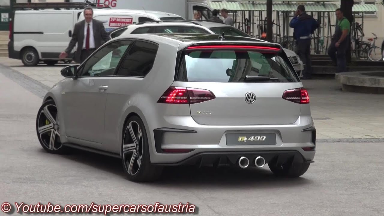2015 vw golf r400 start up sound and more youtube. Black Bedroom Furniture Sets. Home Design Ideas