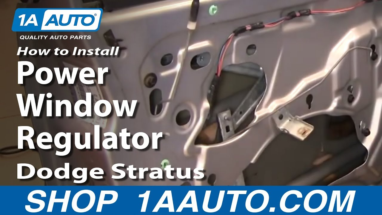 Dodge stratus window motor replacement for 2001 dodge stratus power window problems