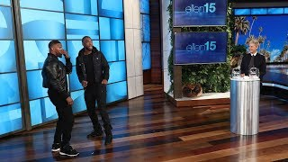 Jamie Foxx and Jay Pharoah Play the Impressions Game