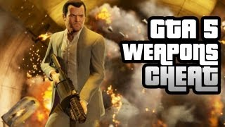 GTA 5 Cheat: Infinite Ammo And Free Weapons