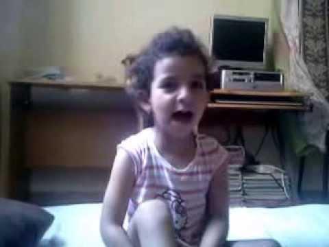 Hymne national Maroc par Hind fille Mustapha