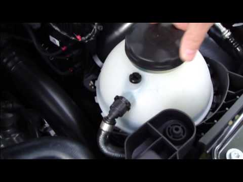 How To Check Add Coolant Level Bmw 3 Serie F30 Years 2013
