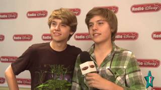 Dylan & Cole Sprouse's Funny Interview At Radio Disney