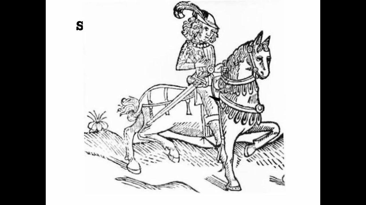 canterbury tales character sketch of chaucers knight Geoffrey chaucer's canterbury tales, written in approximately 1385, is a  collection of twenty-four stories ostensibly told by various people who are going  on a.