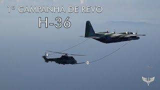 No período de 10 a 21 de dezembro de 2018, militares da Força Aérea Brasileira (FAB) realizam a primeira fase da Campanha de Ensaio para certificação do sistema de Reabastecimento em Voo (REVO) do helicóptero H-36 Caracal, versão operacional FAB, com a aeronave tanker KC-130H, garantindo ao Brasil ser o primeiro país da América do Sul com a capacidade de reabastecimento em voo com helicóptero.