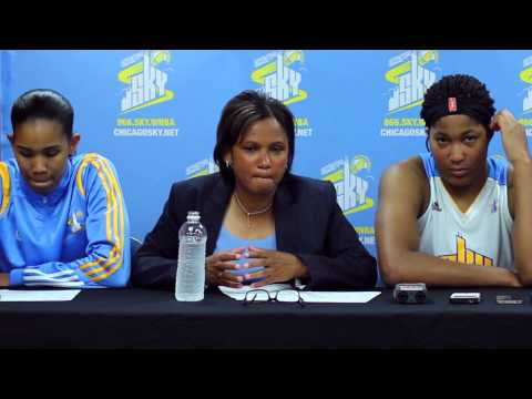 Derek Spallone Chicago Sky 06/10/14 Post Game Report