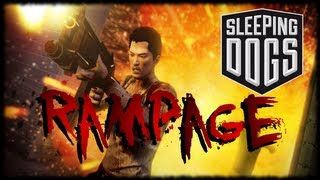 Cop Killing Free Roam Rampage!!! Sleeping Dogs Gameplay