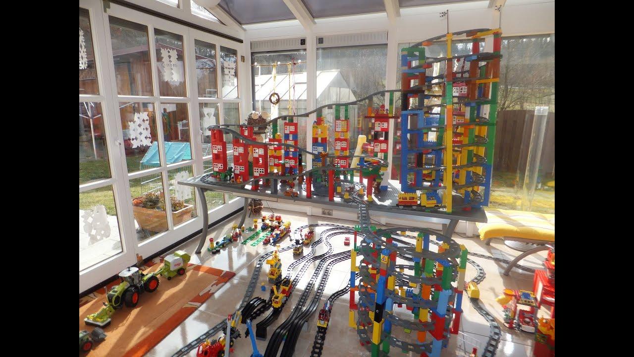 14 level xxl lego duplo train amazing big city lego. Black Bedroom Furniture Sets. Home Design Ideas