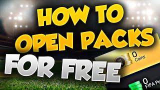 FIFA 15 HOW TO OPEN UNLIMITED PACKS FOR FREE !!!