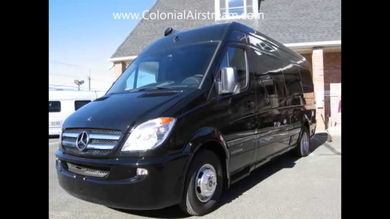 Airstream mercedes sprinter van conversions for for Mercedes benz van conversion