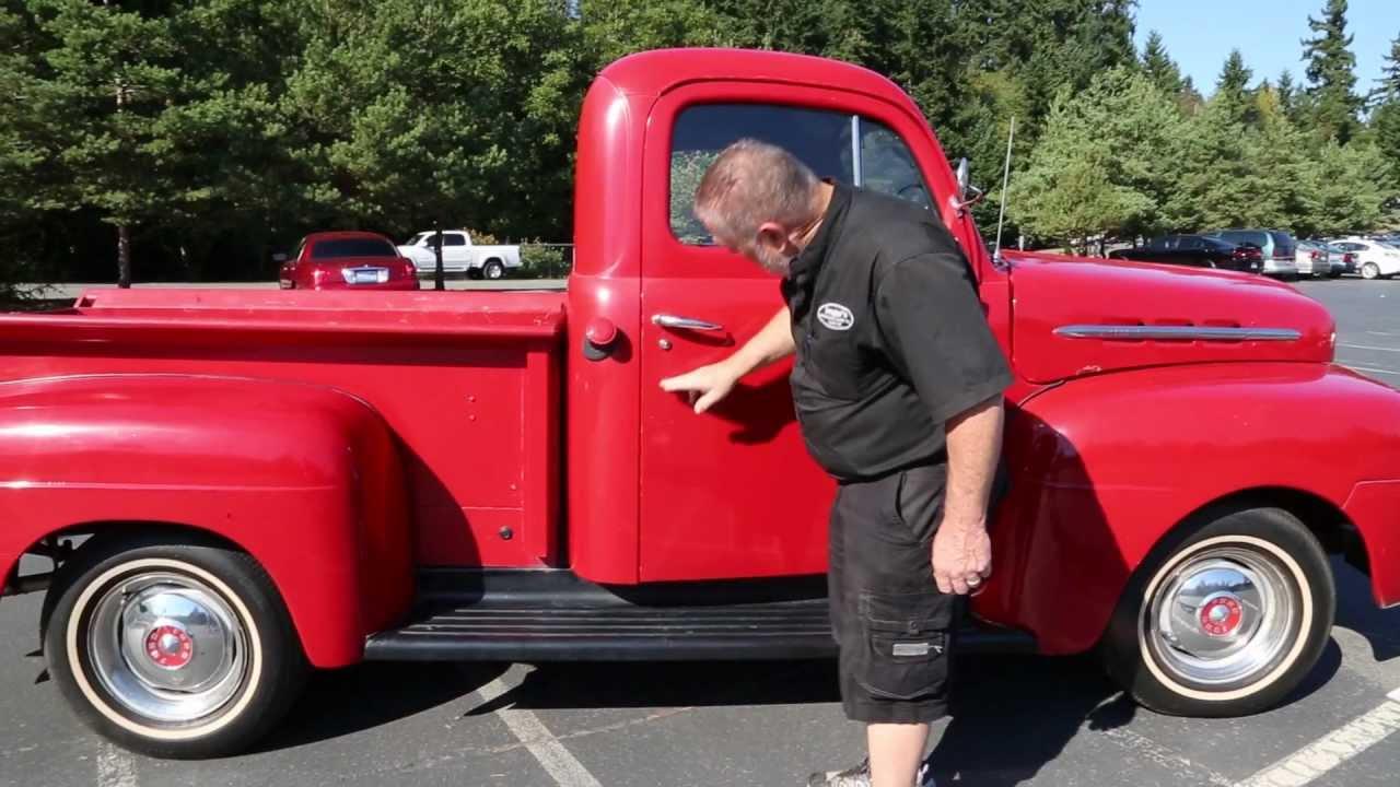 1952 International Pickup 1951 52 Ford Pick Up Harvester