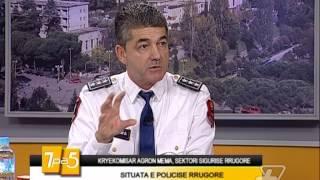 7pa5  Situata e policise rrugore  23 Tetor 2014  Show  Vizion