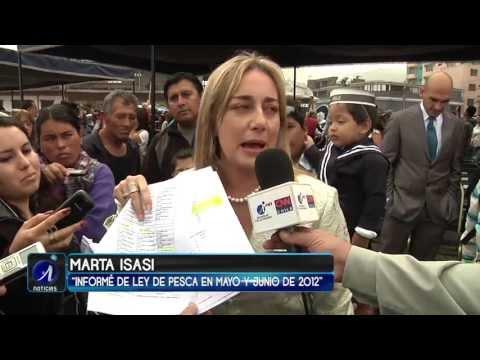 DIPUTADA MARTA ISASI  ACUSA  MONTAJE EN SU CONTRA - Iquique TV