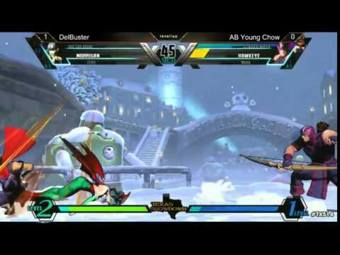 UMVC3 top 16 Del Buster vs Young Chow