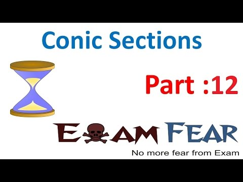 Maths Conic Sections part 12 (Examples of Hyperbola) CBSE class 11 Mathematics XI