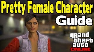 GTA Online How To Make A Pretty Female Character & Curb