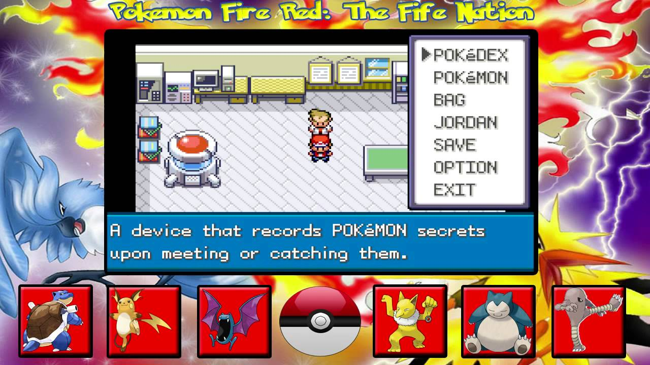 how to play pokemon fire red on android