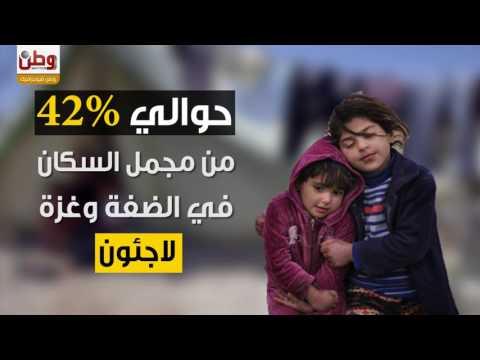اغلب الفلسطينيين لاجئون.. تعرّف عليهم في أرقام