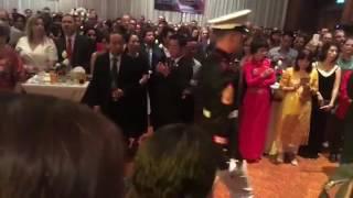 Nóng: Lễ kỷ niệm Quốc Khánh Mỹ tại Hà Nội bất ngờ hát bài Quốc ca Việt Nam gây chấn động dư luận