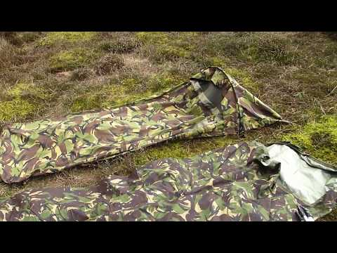 Dutch army hooped bivvi vs british army bivvi vr for AzoreanOutdoors