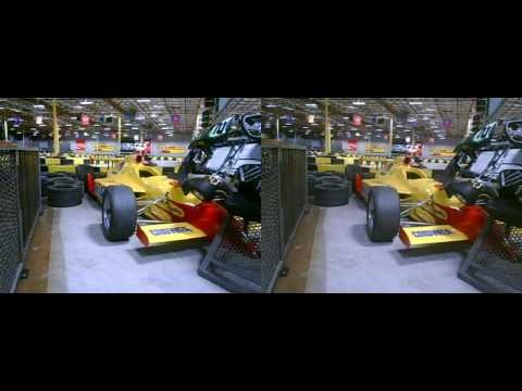 2010 Tachyon XC Helmet Cam - Indoor Karting - yt3d:enable=true