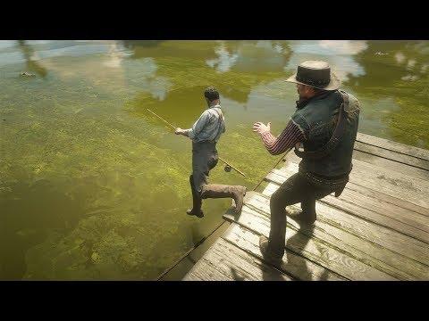 Red Dead Redemption 2 PC 60FPS - Funny & Brutal Moments Vol. 49 (Euphoria Ragdolls)