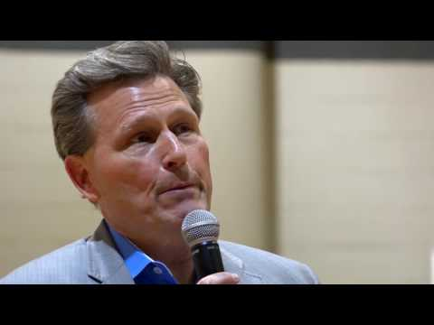 Schultz Junior High Hosts Author David Baldacci