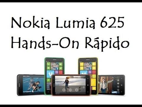 Nokia Lumia 625 / Hands-On Rápido / DavidTecNew / PT BR