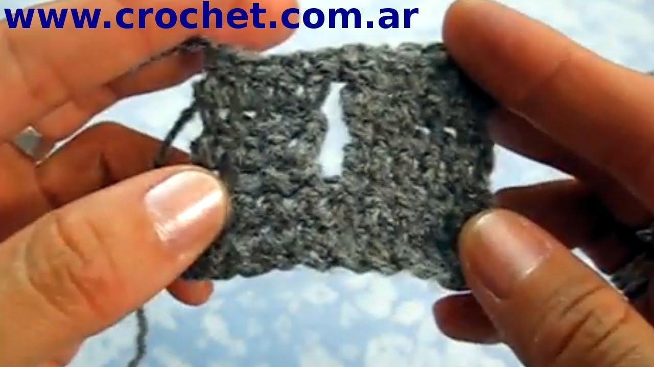 Como hacer un ojal vertical en tejido crochet tutorial - Como hacer un estor enrollable paso a paso ...