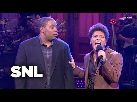 Bruno Mars Monologue: Nervous - Saturday Night Live