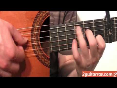 Aprender a tocar la guitarra - Ejercicio de Bulería - Parte 13