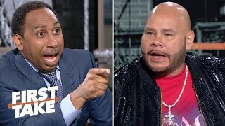 Fat Joe and Stephen A. vent their frustrations about the Knicks losing out on Zion   First Take