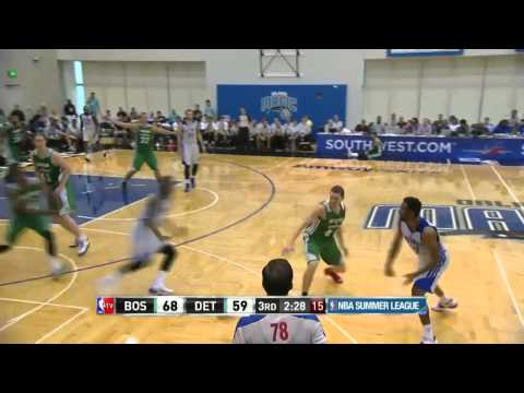 Boston Celtics vs Detroit Pistons | July 9, 2014 | NBA Summer League 2014