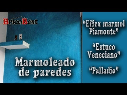Como aplicar Effex marmol (estuco veneciano/palladio)