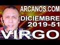 Video Horóscopo Semanal VIRGO  del 15 al 21 Diciembre 2019 (Semana 2019-51) (Lectura del Tarot)