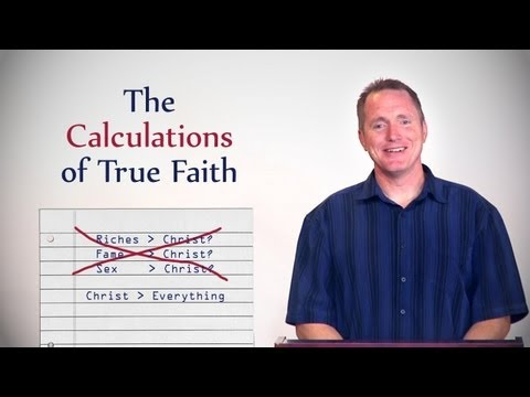 The Calculations of True Faith – Tim Conway