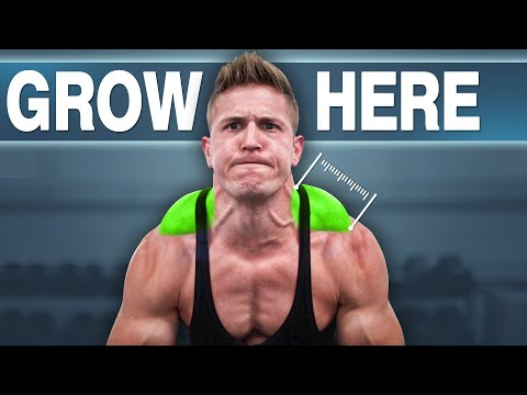 """I Did 100 """"BARBELL SHRUGS"""" Every Day For 30 Days (MY TRAPS GOT HUGE!)"""
