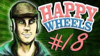 Happy Wheels - Part 18 | FLAPPY BIRD SWORD THROW | IDIOT TEST
