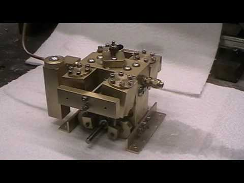 4 Cylinder Live Steam Oscillating Engine for Model Boat Running on Steam