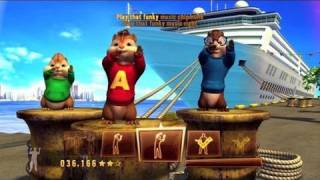 Alvin and the Chipmunks 3 Chipwrecked Video Game