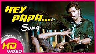 Hey papa song - Raja Rani Video Song