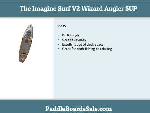The Imagine Surf V2 Wizard Angler SUP video review